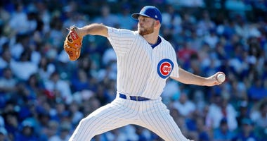 Cubs reliever Kyle Ryan