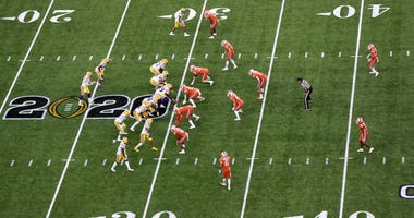 LSU and Clemson square off in the national championship game in the Superdome on Jan. 13, 2020.