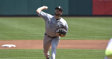 White Sox right-hander Lucas Giolito