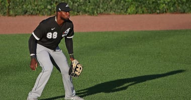 White Sox outfielder Luis Robert