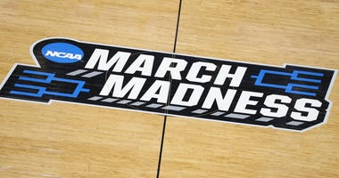General view of court in the NCAA Tournament