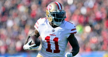 49ers receiver Marquise Goodwin