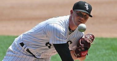 White Sox right-hander Matt Foster