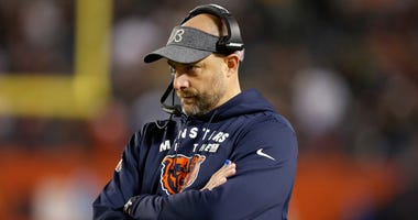 Bears coach Matt Nagy