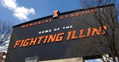 Memorial Stadium view