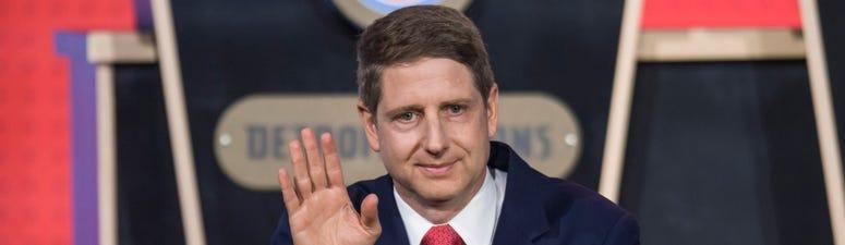 Bulls president Michael Reinsdorf