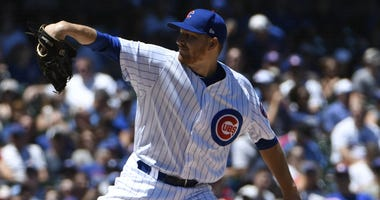 Cubs left-hander Mike Montgomery