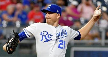 Royals left-hander Mike Montgomery