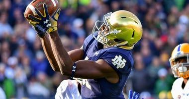 Notre Dame receiver Miles Boykin
