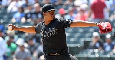 White Sox right-hander Reynaldo Lopez