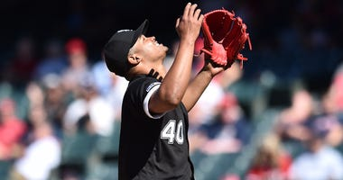 White Sox right-hander Reynaldo Lopez