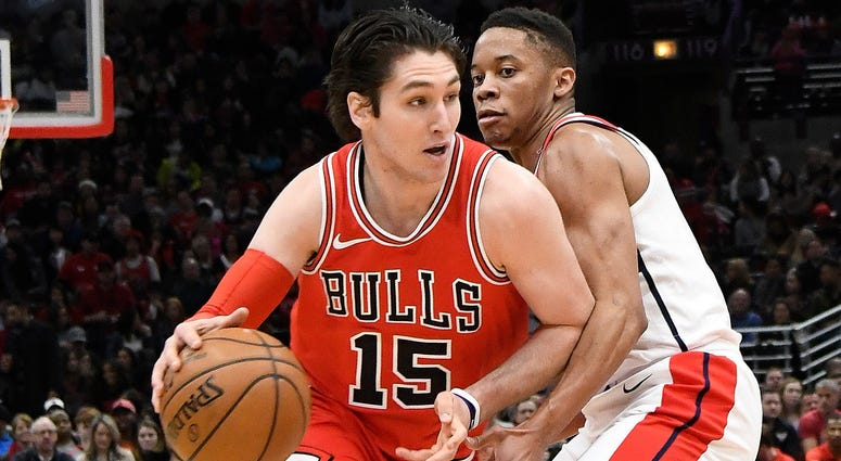 Bulls point guard Ryan Arcidiacono