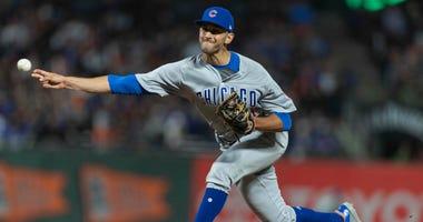 Cubs reliever Steve Cishek