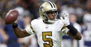 Saints quarterback Teddy Bridgewater
