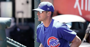 Cubs pitching coach Tommy Hottovy