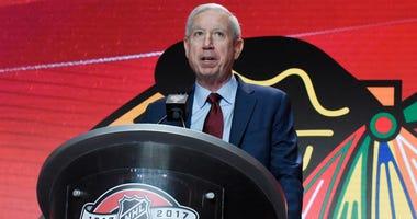 Blackhawks president John McDonough
