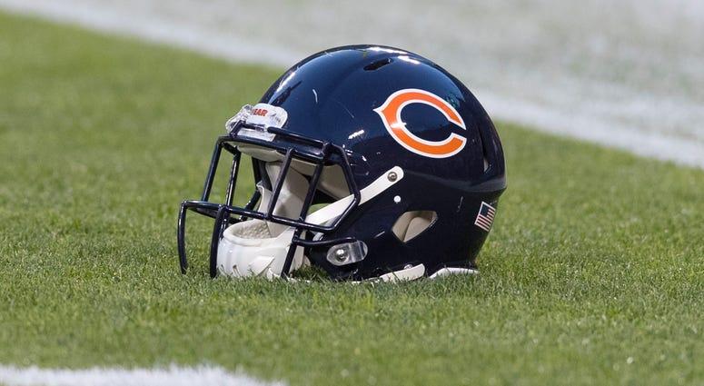 Chicago Bears helmet
