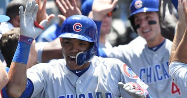 Cubs shortstop Addison Russell