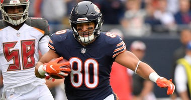 Bears tight end Trey Burton