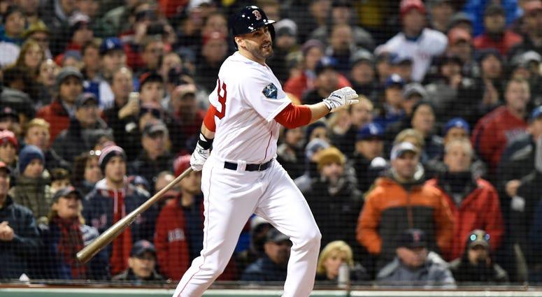 Red Sox slugger J.D. Martinez