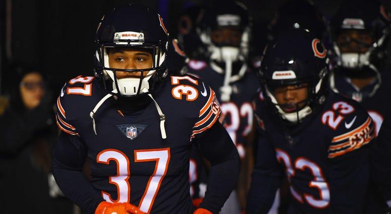 Bears cornerback Bryce Callahan
