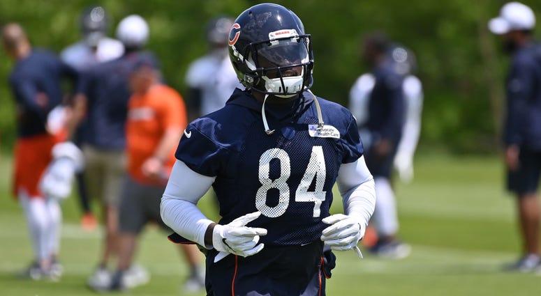 Bears receiver Cordarrelle Patterson