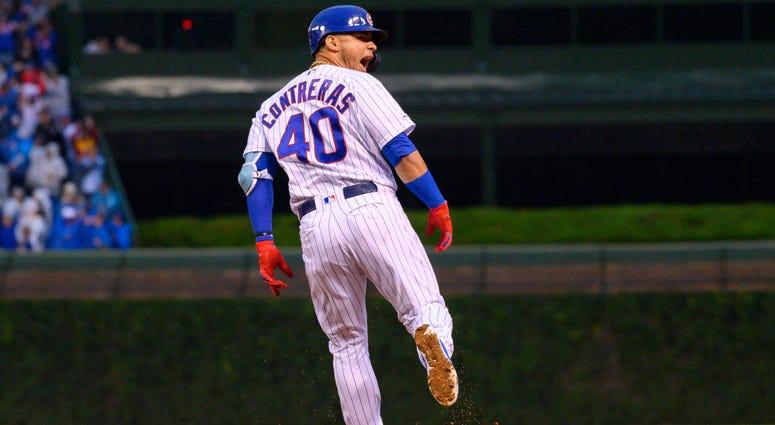Cubs catcher Willson Contreras
