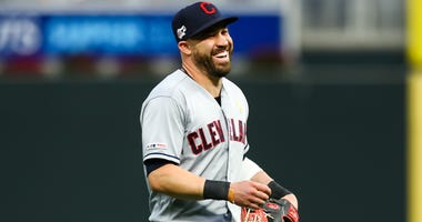 Jason Kipnis with the Indians