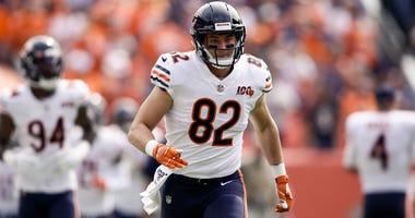 Bears tight end Ben Braunecker