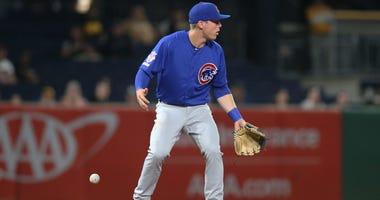 Cubs infielder Nico Hoerner