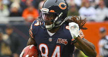 Bears receiver/kicker returner Cordarrelle Patterson
