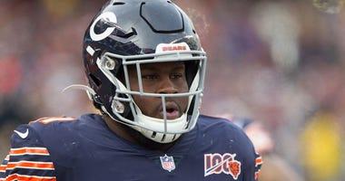 Bears defensive tackle Eddie Goldman