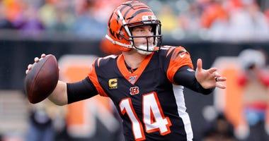 Bengals quarterback Andy Dalton