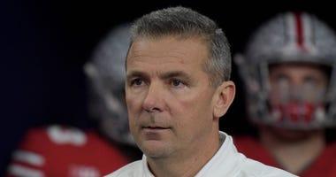 Ohio State football coach Urban Meyer