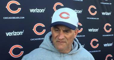Bears defensive coordinator Vic Fangio