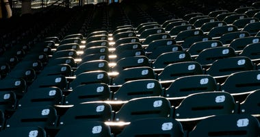 Wrigley Field stands