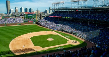 Wrigley Field view