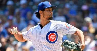 Cubs right-hander Yu Darvish