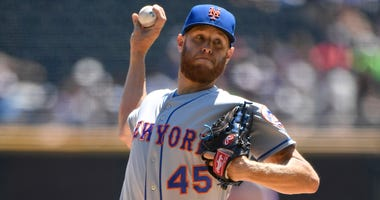 Mets right-hander Zack Wheeler