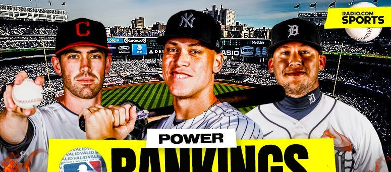 MLB Power Rankings: Aaron Judge and Yankees Are Scorching Hot