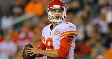 Tyler Bray, then with the Chiefs