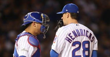 Cubs teammates Willson Contreras and Kyle Hendricks