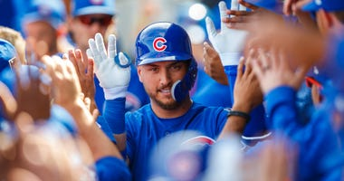 Cubs outfielder Albert Almora Jr.