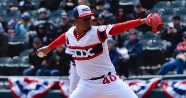 White Sox starter Reynaldo Lopez