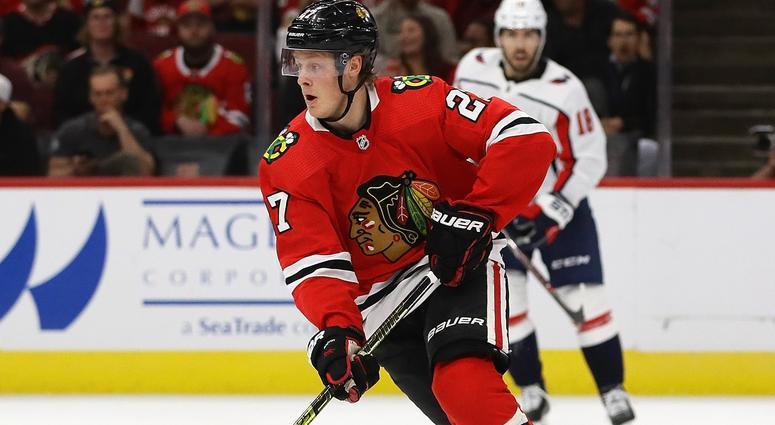 Blackhawks Reassign Adam Boqvist To AHL Rockford