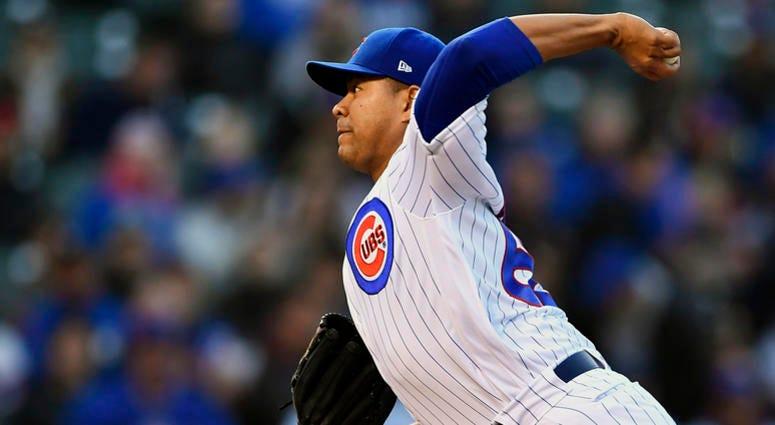 Cubs starter Jose Quintana