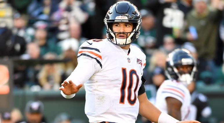 Bears Recognize Mitchell Trubisky's 'Maturation'