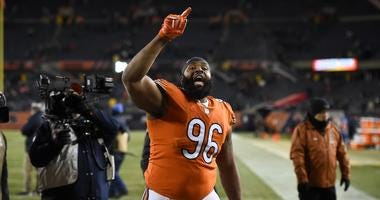 Bears defensive lineman Akiem Hicks