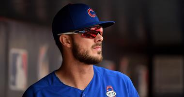 Cubs third baseman Kris Bryant