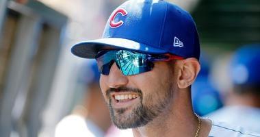 Cubs outfielder Nick Castellanos